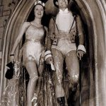 The Cellophane Wedding, premier défilé de sous-vêtements, par la marque américaine Jockey (1938).