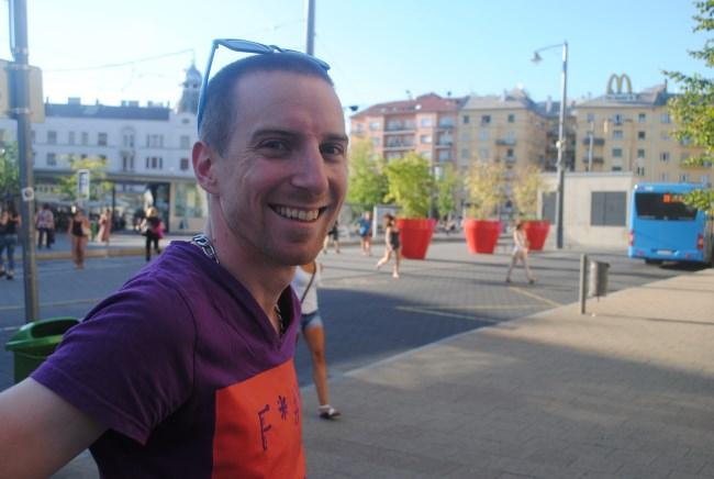 Dániel Höllander, superviseur en chef de la Budapest Pride