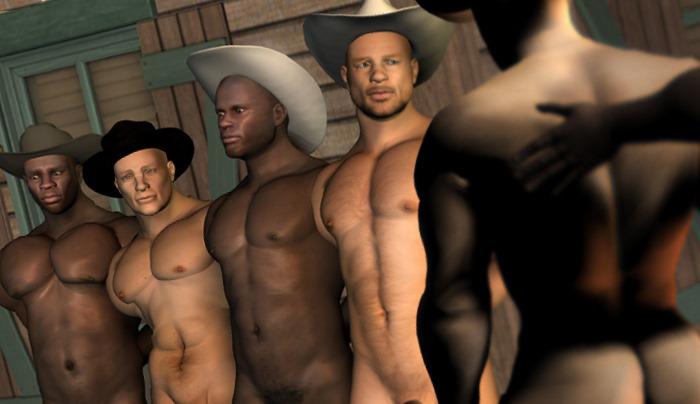 Du X numérique à la mode western: du muscle et des regards vides...